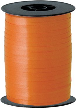 Orange Curling Ribbon 5mm x 500m