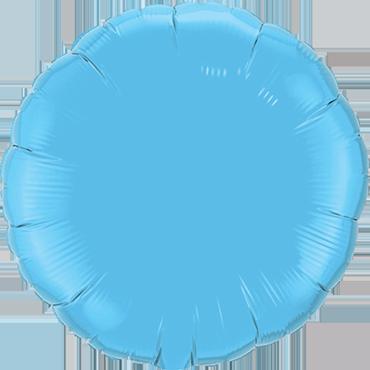Pale Blue Foil Round 18in/45cm