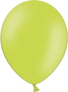 Pastel Apple Green Latex Round 11in/27.5cm