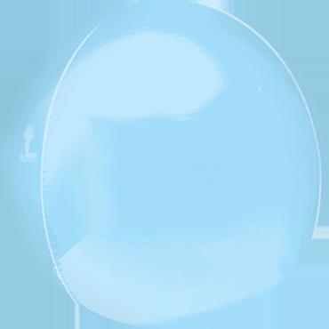 Pastel Blue Orbz 15in/38cm x 16in/40cm