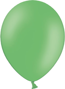 Pastel Bright Green Latex Round 11in/27.5cm