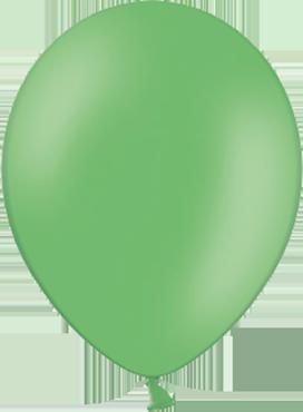 Pastel Bright Green Latex Round 5in/12.5cm