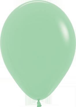 Pastel Green Latex Round 5in/12.5cm