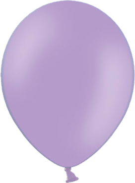 Pastel Lavender Latex Round 5in/12.5cm