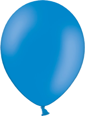 Pastel Mid Blue Latex Round 11in/27.5cm