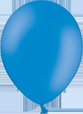 Pastel Mid Blue Latex Round 5in/12.5cm