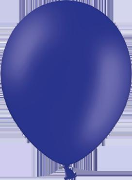 Pastel Night Blue Latex Round 11in/27.5cm