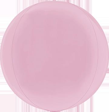 Pastel Pink Globe 15in/38cm