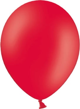 Pastel Red Latex Round 11in/27.5cm