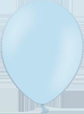 Pastel Sky Blue Latex Round 11in/27.5cm