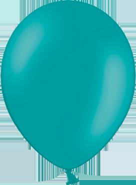 Pastel Turquoise Latex Round 11in/27.5cm