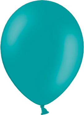 Pastel Turquoise Latex Round 5in/12.5cm