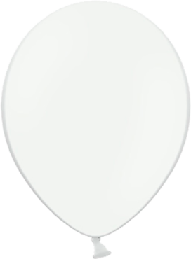 Pastel White Latex Round 11in/27.5cm