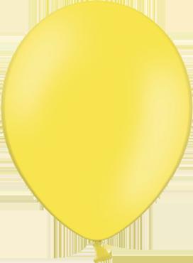 Pastel Yellow Latex Round 11in/27.5cm