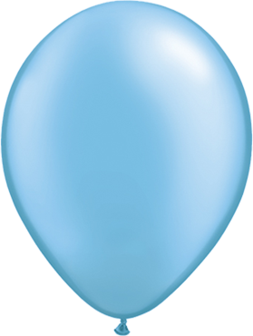 Pearl Azure Latex Round 5in/12.5cm