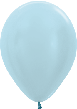 Pearl Blue Latex Round 11in/27.5cm