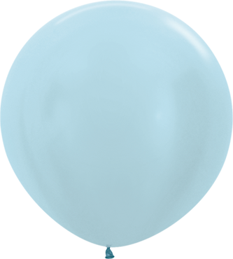 Pearl Blue Latex Round 36in/90cm