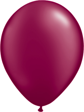 Pearl Burgundy Latex Round 5in/12.5cm