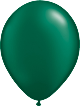Pearl Forest Green Latex Round 11in/27.5cm