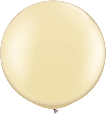Pearl Ivory Latex Round 30in/75cm