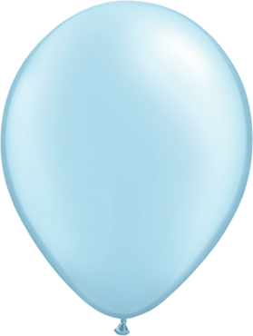 Pearl Light Blue Latex Round 11in/27.5cm