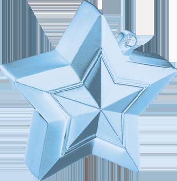 Pearl Light Blue Star Weight 150g 62mm