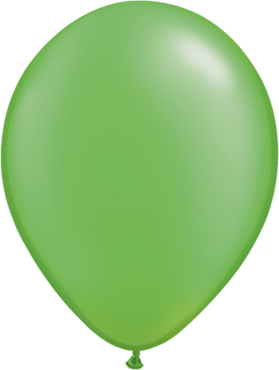 Pearl Lime Green Latex Round 5in/12.5cm