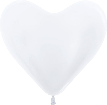 Pearl Pearl Latex Heart 14in/36cm