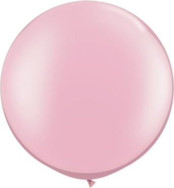 Pearl Pink Latex Round 30in/75cm