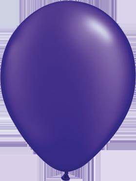 Pearl Quartz Purple Latex Round 16in/40cm