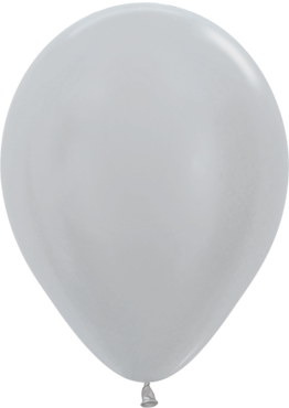 Pearl Silver Latex Round 11in/27.5cm