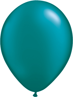 Pearl Teal Latex Round 11in/27.5cm