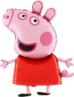Peppa Pig Foil Shape 37in/92cm