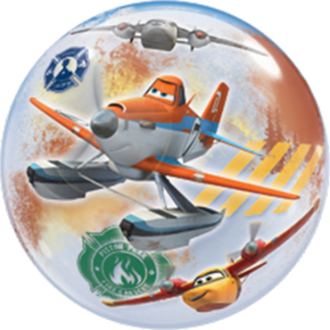 Planes Fire and Rescue Single Bubble 22in/55cm