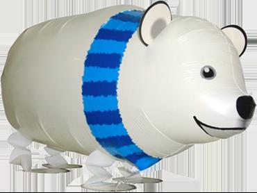 Polar Bear Airwalker 28in/71cm