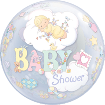Precious Moments Baby Shower Single Bubble 22in/55cm