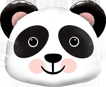 Precious Panda Foil Shape 14in/36cm