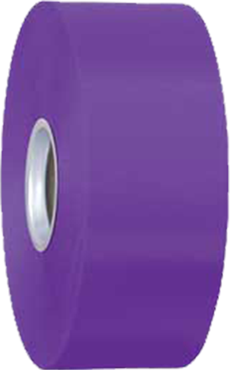 Purple Ribbon 5cm x 100m