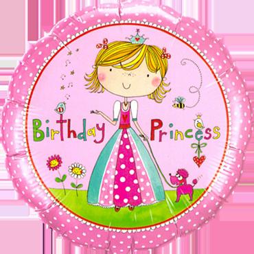 Rachel Ellen - Birthday Princess Foil Round 18in/45cm