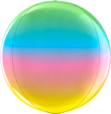 Rainbow Globe 15in/38cm