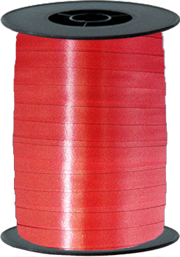 Red Curling Ribbon 10mm x 250m