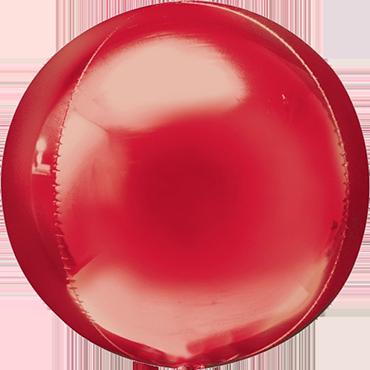 Red Orbz 15in/38cm x 16in/40cm