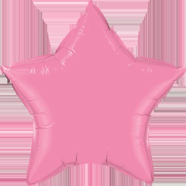 Rose Foil Star 20in/50cm