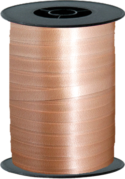 Rose Gold Curling Ribbon 10mm x 250m
