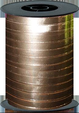 Rose Gold Metallic Curling Ribbon 5mm x 250m