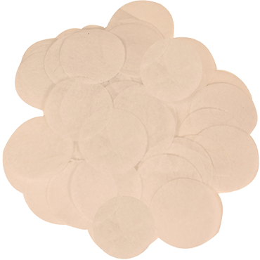 Rose Gold Paper Round Confetti (Flame Retardant) 15mm 14g
