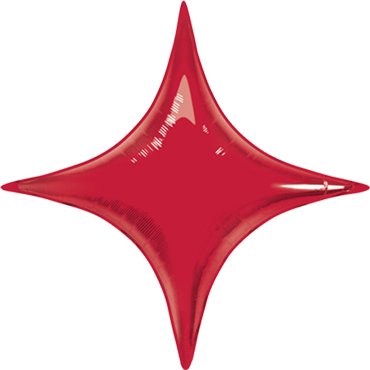 Ruby Red Foil Starpoint 40in/100cm