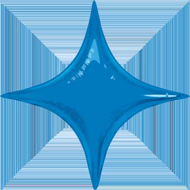 Sapphire Blue Foil Starpoint 20in/50cm