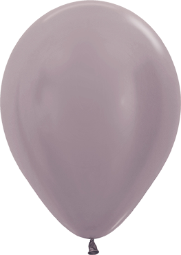 Satin Pearl Greige Latex Round 11in/27.5cm