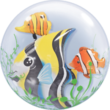 Seaweed Tropical Fish Double Bubble 24in/60cm